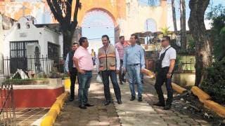 Recorren panteones de Cuernavaca y supervisan limpieza 2