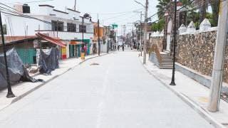 Reabren hoy un tramo de la calle No Reelección en Emiliano Zapata 2