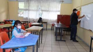 Sólo 2 niños de 60 acudieron en la primaria Plan de Ayala, en Cuernavaca