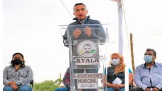 Rehabilitan vía en zona oriente de Morelos 2