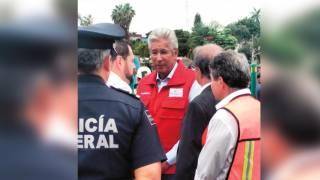 Responsabilidad. Gerardo Ruiz Esparza dijo que se harán estudios necesarios para ver si la empresa tuvo responsabilidad en el fallo de la obra.