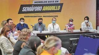 Continúa Morelos en semáforo amarillo 2