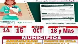 Llega vacuna para rezagados de la zona sur de Morelos; aquí los detalles 2