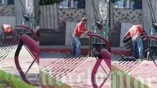 Captan a sujeto robándose alcantarilla a plena luz del día en Cuernavaca 2