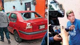 Roba mujer tienda, huye y arrolla a menor en Jiutepec 2