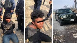 Detienen a dos hombres por robar una camioneta en Emiliano Zapata 2