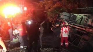 Ésta es la lista de heridos tras volcadura de ruta en Temixco 2