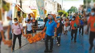 Conmemoran a San Juan en Emiliano Zapata 2