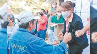 Protegen a personal de SAPAC Cuernavaca contra COVID-19 2