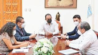 Acuerda Gobernador Cuauhtémoc Blanco trabajo con SCT Morelos 2
