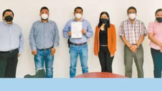Entregan certificación a sindicato en Morelos 2