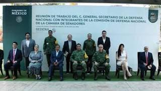 Reconoce Senado compromiso del Ejército Mexicano 2