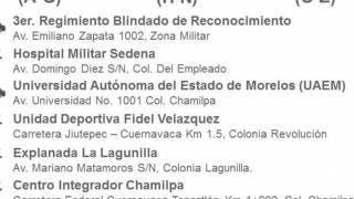 Por orden alfabético del 14 al 16 de junio, segunda dosis de vacuna a los de 50 a 59 años, en Cuernavaca 2