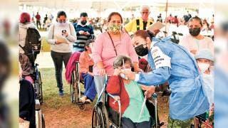 Hoy concluye en Tepoztlán aplicación de segunda dosis