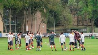 Selección Mexicana entrena completa, previo a romper filas este día 2