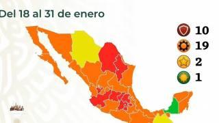 Seguirá Morelos en semáforo rojo, a partir del lunes y hasta el 31 de enero 2