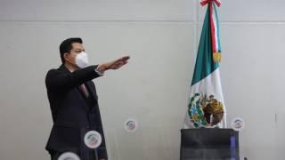 Sergio Pérez Flores, de Morelos, toma protesta como senador, en sustitución de Radamés Salazar 2