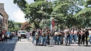 Poca participación ciudadana se vio en el macro simulacro en el Día Nacional de Protección Civil