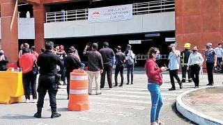 Se unen plazas comerciales y tiendas al simulacro de sismo