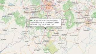 Descartan daños por sismo de la madrugada en Cuernavaca 2