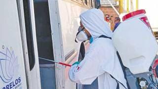 En transporte de Morelos, persiste resistencia a usar cubrebocas 2