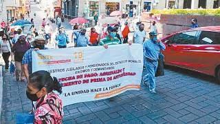 Comunican a profesores jubilados de Morelos inicio de pago 2