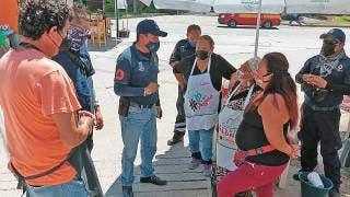 Supervisan medidas sanitarias en tianguis de Morelos 2