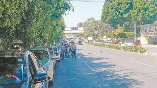 Se movilizan en Cuernavaca operadores de taxi por plataformas por inseguridad 2