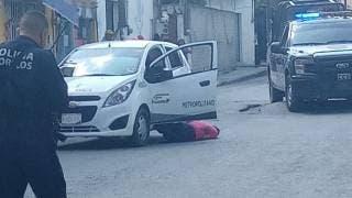 Asesinan a balazos a un taxista en Temixco 2
