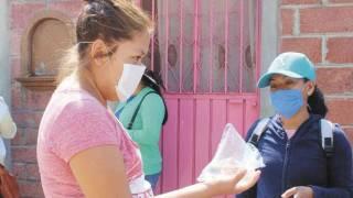 Reparten 15 mil cubrebocas en Tepalcingo 2