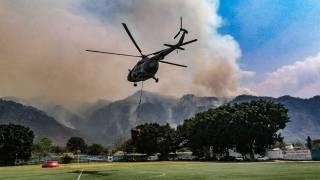 Realizan 33 descargas de agua en incendio de Tepoztlán; apoyan 3 helicópteros 2