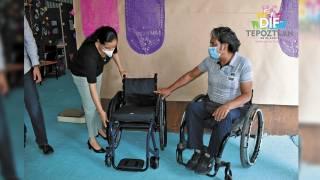 Entregan sillas en Tepoztlán 2