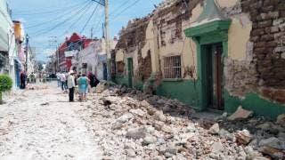 Destruye terremoto el municipio de Jojutla