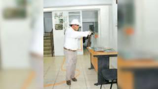 Sanitizan IMSS de Tlaltizapán 2
