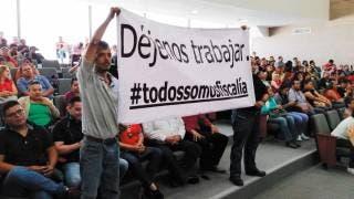 Trabajadores de la FGE piden intervención del Congreso 2