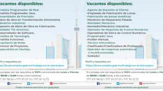 ¿Buscas trabajo? Podrás irte a Canadá y ganar hasta 109 mil pesos. Checa cómo 2