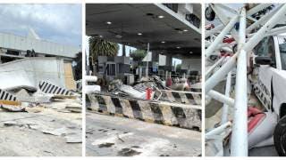 Tragedia en la México-Puebla: 2 muertos tras chocar tráiler sin frenos vs varios autos 2