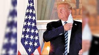 Presume Donald Trump inmunidad al COVID19 2