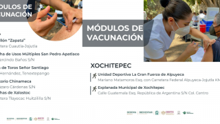 Llega primer dosis de vacuna vs COVID19 a Xochitepec y Ayala 2