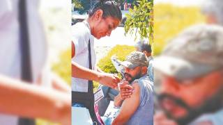 Aplican vacuna en los Altos de Morelos a población de 30 a 49 años de edad 2