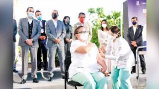 Cuauhtémoc Blanco hizo el arranque oficial del Plan  de Vacunación COVID19 en Morelos 2