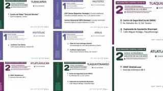 Vacunación: primeras y segundas dosis en 6 municipios de Morelos 2