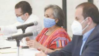 Recibe Gobernador Cuauhtémoc Blanco a Elsa Veites, enlace federal para atención de COVID-19 en Morelos 2