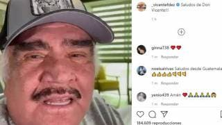 Hospitalizan a Vicente Fernández por una infección en las vías urinarias 2