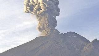 Llaman a no acercarse al Popocatépetl  2