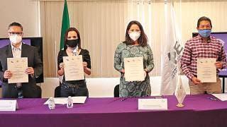 Firman compromiso Ayuntamiento de Emiliano Zapata y el IMIPE 2