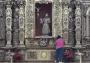 Denuncian negligencia en limpieza a retablo en Cuernavaca