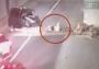 Choque expulsa de camioneta a mujer embarazada