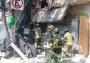 Se derrumba edificio sobre Calzada de Tlalpan