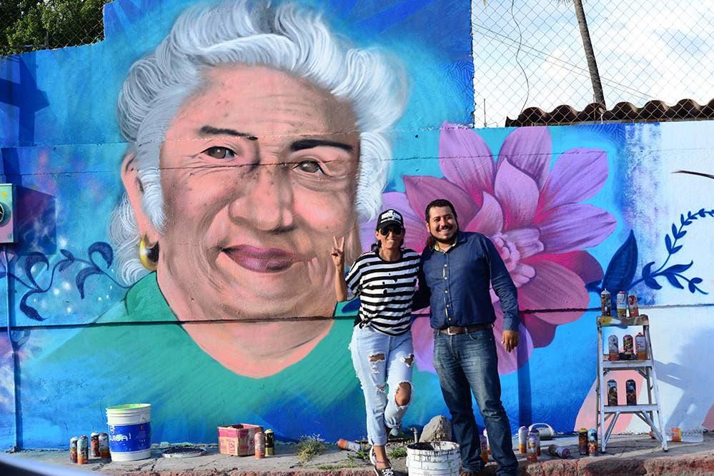 Claudia Romero y David Trujillo creadores del proyecto